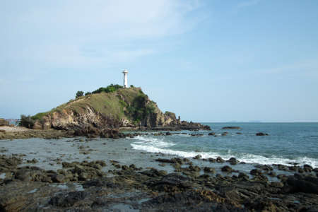 Lighthouse on the Lanta island, Thailand.