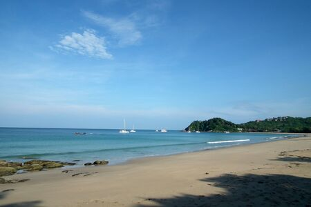 Sea of Southern Thailand. Stock Photo
