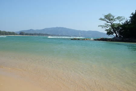 sea Phuket, Thailand. Stock Photo