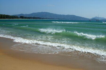 Beach, Phuket, Thailand. Stock Photo
