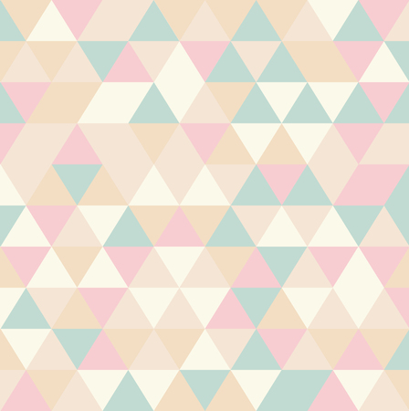 rhomb: retro abstract triangle seamless pattern background