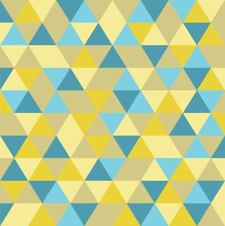 rhomb: abstract geometric tiangle seamless pattern background