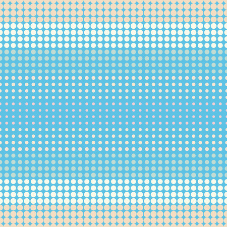 spot the difference: blue seamless polka dots pattern background