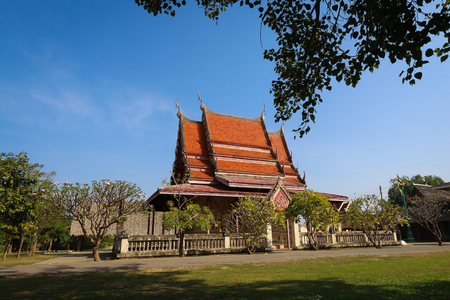 Wat Chai Sri (Chai Sri temple) in Khon Kaen, Northeast of Thailand