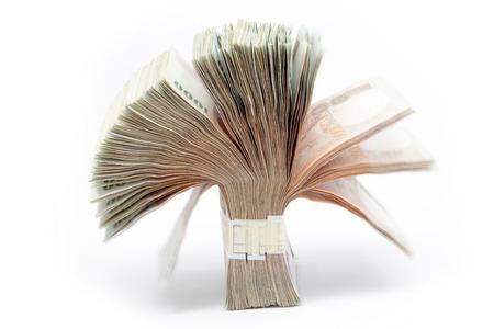 プミポン国王をイメージしたタイ紙幣。1,000バーツ 写真素材 - 93218944