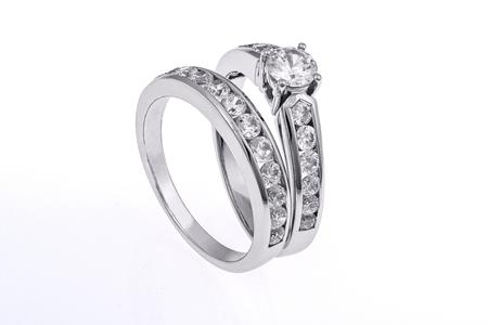Su conjunto y el suyo anillos de boda