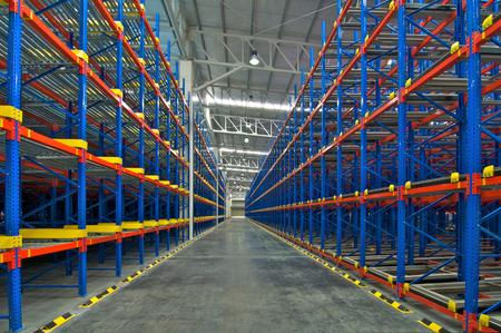 storage: Distribution center warehouse storage pallet racking system