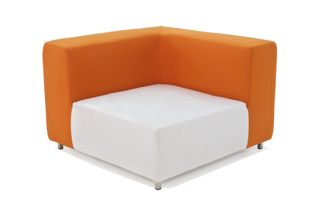 resistant: Outdoor indoor sofa with water resistant cushions and pillows