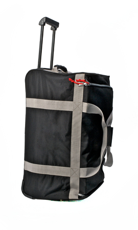 Travel Bag Gray Color Large on White background