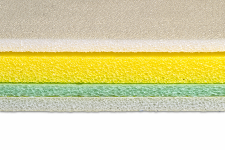Polyethylene material closed up multi color type, shockproof material