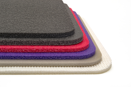 Polyethylene foam multi colour product shockproof multi type closed up