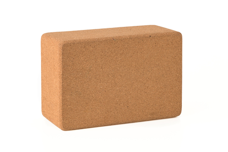 Cork Yoga Block, Eco Friendly Premium Quantity Banque d'images