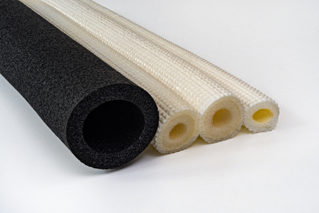 Polyethylene pipe insulation different diameter and colors shockproof foam Zdjęcie Seryjne