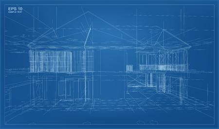 Abstract 3D render budowy struktury szkieletowy.