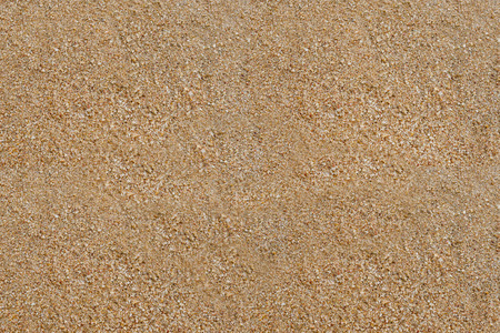 Sand texture. Top view of sand texture background on beach. Stok Fotoğraf