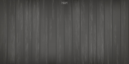 Dark wood pattern and texture for background. Vector illustration. Illustration