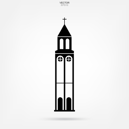 Religion building icon. Abstract architectural sign and symbol. Vector illustration. 일러스트