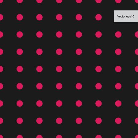 Colorful dot pattern for background. Vector illustration. Illustration