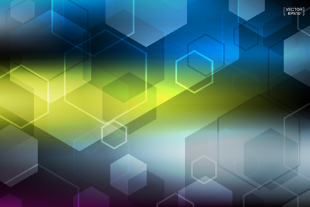 Abstract colorful technology background.Vector illustration.