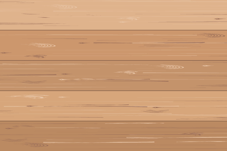 Wood plank pattern and texture for background. Vector illustration.