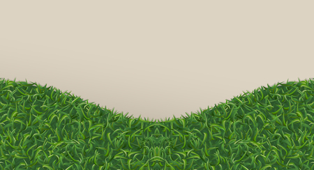 Abstract green grass for background. Vector illustration.