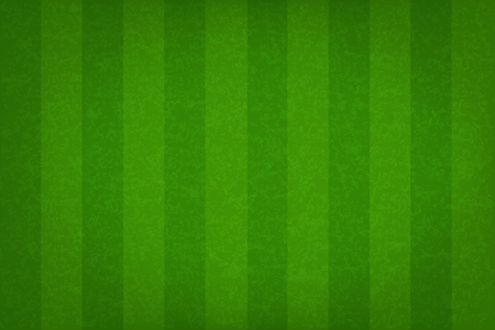 Green grass field pattern for sport background. Grass court for soccer, football, rugby, golf, baseball. Vector illustration. Illustration