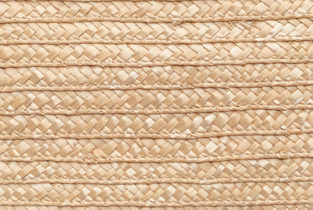 Close up wicker basket texture for use as background . Woven basket pattern and texture. Banque d'images
