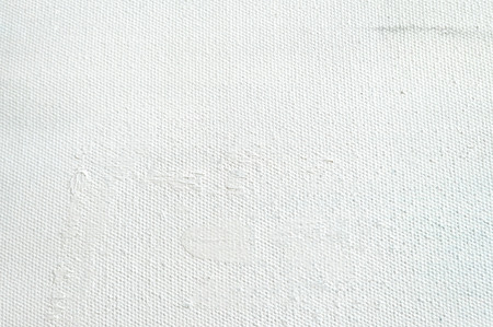 White canvas texture background for art painting and drawing. Abstract painting pattern and texture.