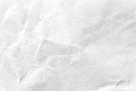 White crumpled paper texture background. Close-up image. Фото со стока