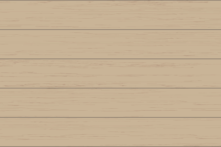 Brown wood plank texture for background. Vector illustration. Zdjęcie Seryjne - 124970942