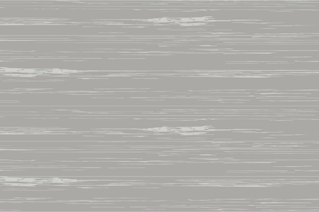 Gray wood plank texture for background. Vector illustration.