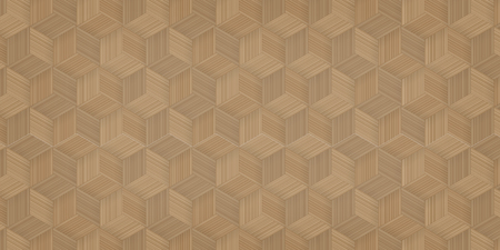 Pattern background of bamboo basketry. Natural pattern and texture for template design. Vector illustration. Ilustração