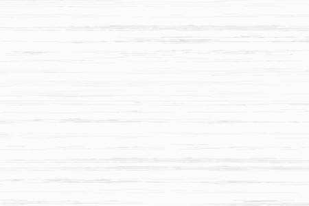 White wood plank texture for background. Vector illustration. Zdjęcie Seryjne - 124970987