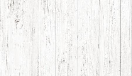 Patrón de madera blanca y textura de fondo. Imagen de primer plano.