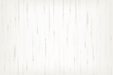 White wood plank texture for background. Vector illustration. Zdjęcie Seryjne - 124292890