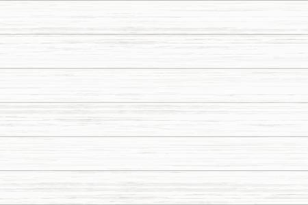 White wood plank texture for background. Vector illustration. Ilustracje wektorowe