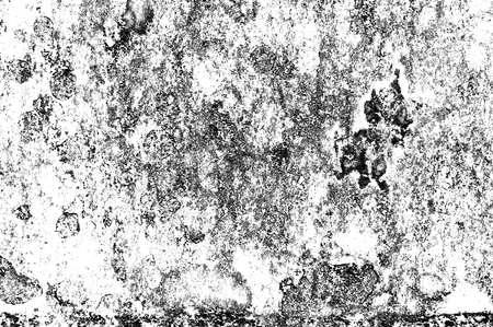 Texture black and white abstract grunge style. Vintage abstract texture of old surface. Pattern and texture of cracks, scratches and chips. Stock Photo