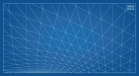 Abstract 3D wireframe pattern of surrounding contour pattern. Vector 3D illustration idea.