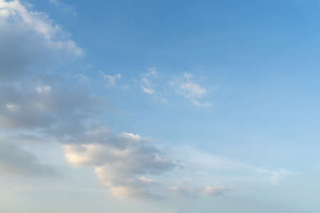 Beautiful clouds and blue sky. Soft sky with soft clouds for background. Stockfoto