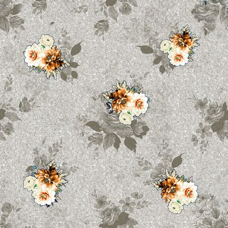 Seamless Floral Pattern design ..