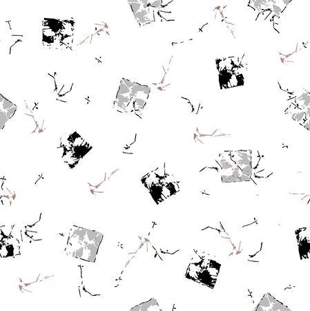 isolé, ornement floral ethnique .motif, modèle de conception. Banque d'images