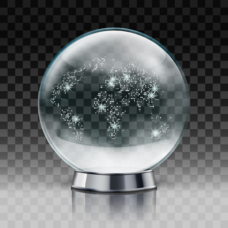 Christmas Snow World Globe.