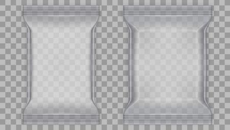 Transparent Food Snack Plastic Pillow Bag