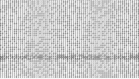 Gradient Binary Code Digits Background  イラスト・ベクター素材