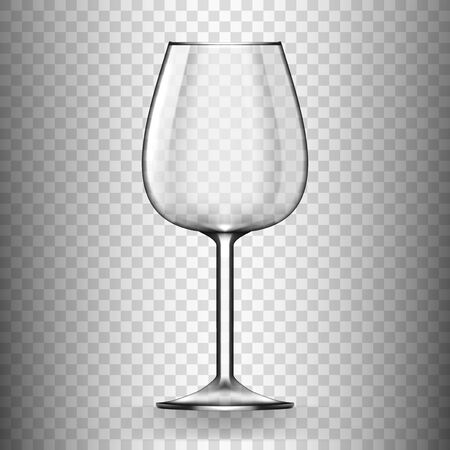 Big Reds Wine Empty Glass Without Wine