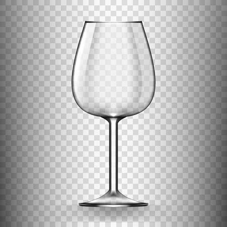 Big Reds Wine Empty Glass Without Wine
