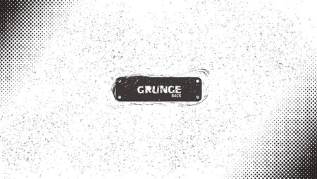 Grunge BW Halftone Grain Noise Scratch Wave