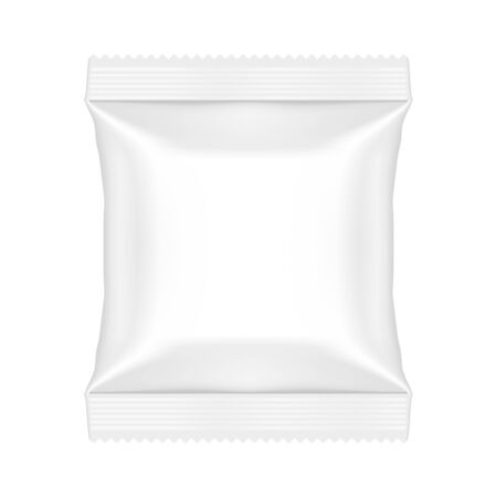 Snack Pouch Food Bag Template Mock Up