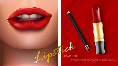 Luxury Lipstick Cosmetics Make Up Beauty Product