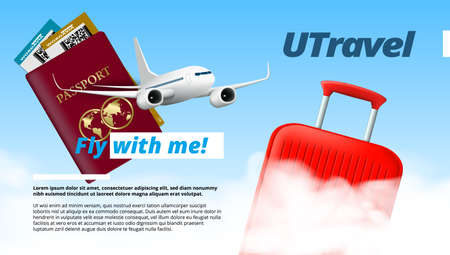 You Travel Air Company Template Design